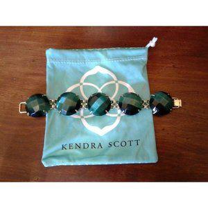 Kendra Scott Emerald Cat's Eye Cassie Bracelet